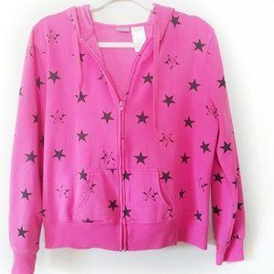 Disney Tinkerbell Pink Hoodie Junior Size XXL